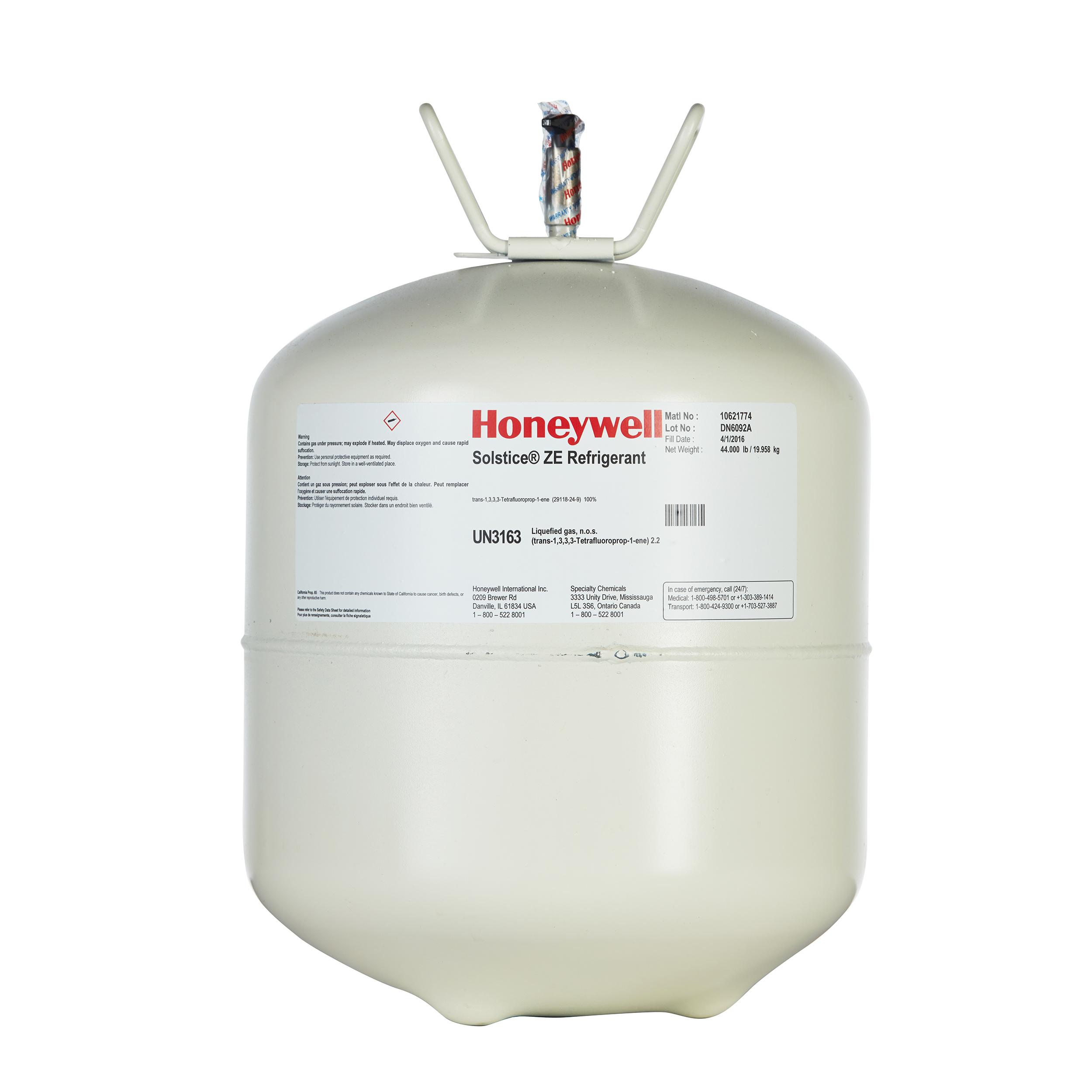 Honeywell R-1234ze制冷剂
